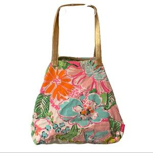 Lilly Pulitzer Target Nosey Posey Weekender Tote